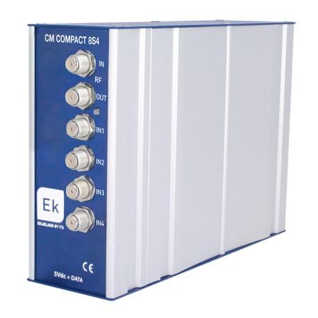 CMCOMPACT-8S4 / Transmodulador Octo DVB S/S2/MS a COFDM/QAM EK
