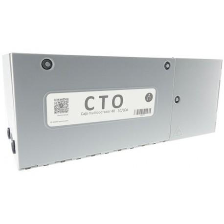 CTO-48N / Caja distribución 48 fibras multioperador Keynet