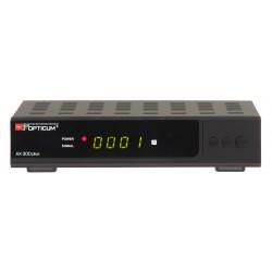 AX300-PLUS / Receptor SAT HD con Display Opticum