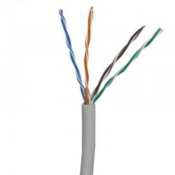 UTP5E-300 / Cable UTP Categoría 5e PVC gris claro CCA (305m) Safire