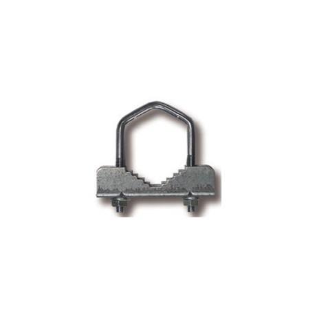 ACM6 / Abrazadera pequeña dentada para mástil métrica 6