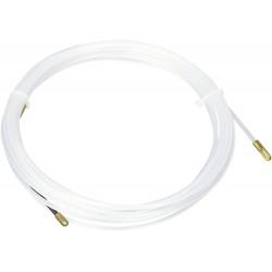 PASAHILOS-10 / Guía pasacabless fibra 3mm poliamida cabezal flexible (10m)