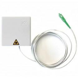 CTB53A / Roseta fibra óptica preconectorizada con pigtail 2,5m Keyfibre