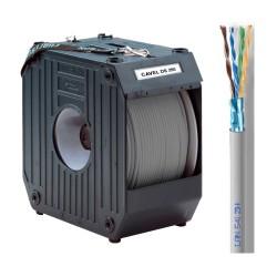 LAN-541ZH / Cable FTP Categoría 5e LSZH gris Cu (289m) + DS250 Cavel