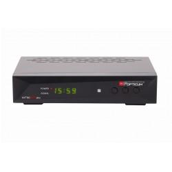 NYTRO-BOX+ / Receptor TDT DVB-T2 PVR con Display Opticum