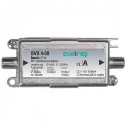 SVS 4-00 / Amplificador de línea SAT - TER IN-OUT 12dB (TER) - 17dB (SAT)