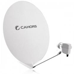 SMC-80 / Antena Parabólica 80cm de fibra en embalaje individual