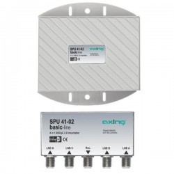 SPU 41-02 / Conmutador DiSEqC 4 entradas