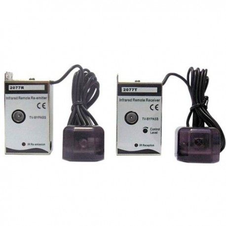 ADLINK / Kit Emisor-Receptor extensor mandos vía cable coaxial