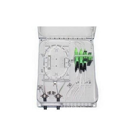 L/OMX24 / Caja mural plástica IP65 24 FO registro secundario