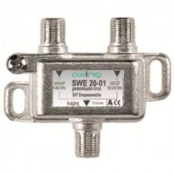 SWE 20-01 / Mezclador / Desmezclador TV-SAT clase A