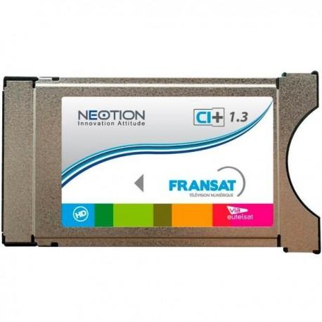CAM-FRANSAT / Modulo PCMCIA con Tarjeta FRANSAT