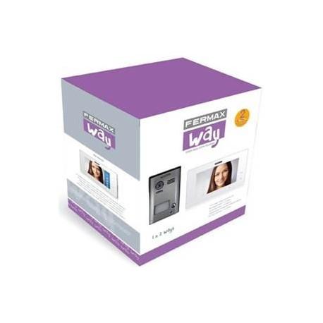 """1401 / Kit videoportero color Way 7"""" 2 hilos 1L Monitor manos libres"""