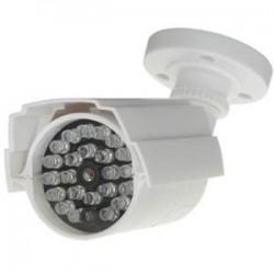 CS023 / Cámara simulada tipo Bullet 23 LEDs