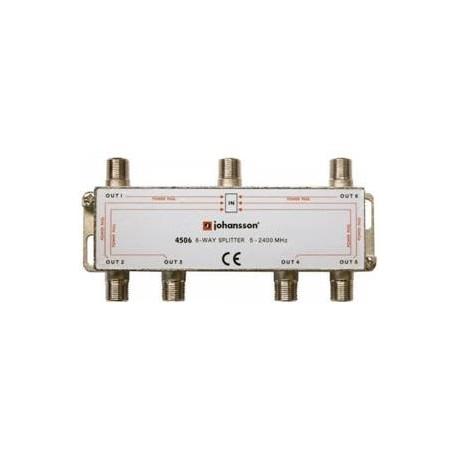 4506 / Distribuidor 6 salidas (5-2340MHz)