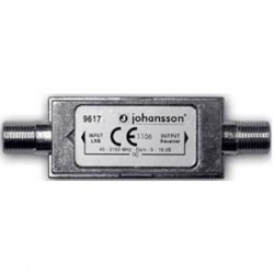 9617 / Amplificador de línea SAT - TER IN-OUT 9dB (TER) - 16dB (SAT)
