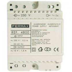 4800 / Alimentador 12Vac / 1,5A Fermax