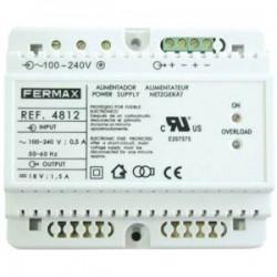 4812 / Alimentador Fermax 18Vdc / 1,5A