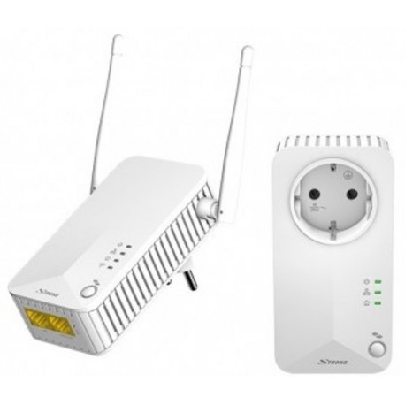 POWERLINE 500 WIFI / Adaptador PLC Ethernet Vía red eléctrica 500Mbps Wifi