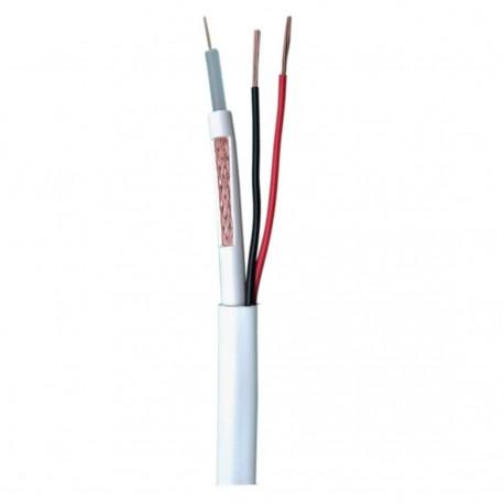 RG59+2xAL / Cable Coaxial 75Ω RG59 + alimentación