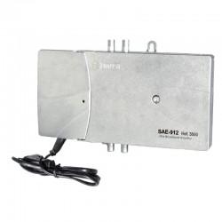 SAE-912 / Amplificador de línea 1 IN - 1 OUT 35dB (TER) - 40dB (SAT)