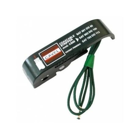 CS-00 / Pelacables multiuso para cables coaxiales de 5mm a 7mm