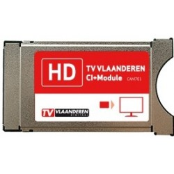 CAM-701 TVV / Módulo PCMCIA oficial para plataforma TV VLAANDEREN