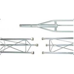 TS250-2,5 / Tramo superior torreta serie 250 (2,5m)