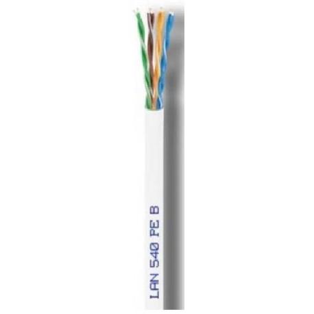 LAN-540 PEB / Cable UTP Categoría 5e PE blanco Cu (300m)