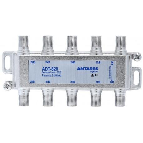 ADT-824 / Derivador 8 Líneas (5 …2400MHz) -24dB