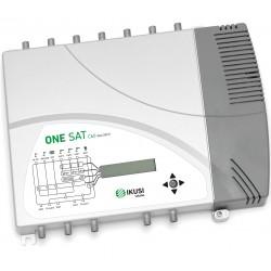 ONESAT-C60 / Cabecera Programable 8 entradas 35/55dB (UHF) Conmutable 40dB (SAT)