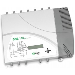 ONE118-C60 / Cabecera Programable 5 entradas 35/55dB (UHF) Conmutable