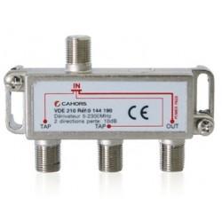 VDE-215 / Derivador 2 vías (-15dB)