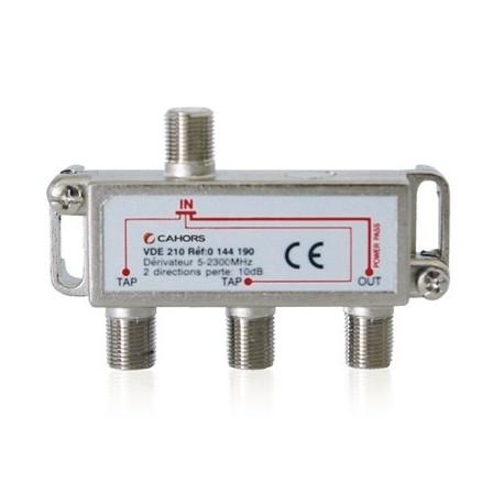VDE-220 / Derivador 2 vías (-20dB)