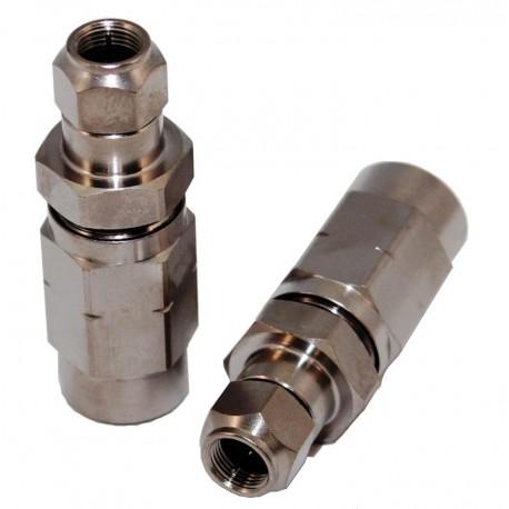 D056-FM / Conector roscado tipo F cables 12,7mm Hardline