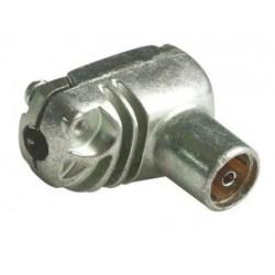 413310 / Conector IEC acodado hembra A+ PROEasyF