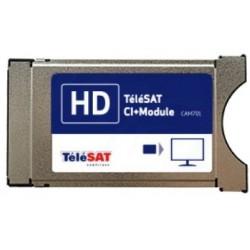 CAM-701 TSAT / Módulo PCMCIA oficial para plataforma TELESAT
