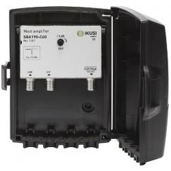 SBA190-C60 / Amplificador de mástil UHF/SAT 35dB/-2dB