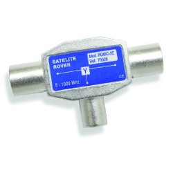 ROBIC-2S / Mezclador / Distribuidor conector IEC 1 hembra - 2 machos