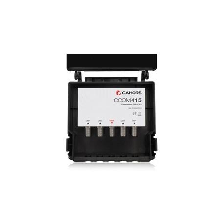 CCOM-415 / Conmutador DiSEqC 4 entradas