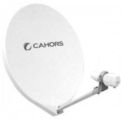 SMC-55 UNI / Antena Parabólica 55cm de fibra en embalaje individual con LNB single