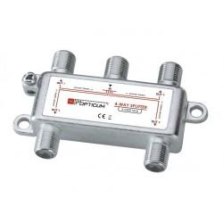 SPLIT4 / Distribuidor 4 salidas (5-2400MHz)