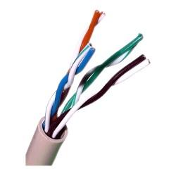 UTP-5E/100 / Cable UTP Categoría 5e PVC gris CCA (100m)