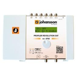 PROFILER REVOLUTION SAT (6702HP) / Cabecera Procesadora 6 entradas 70dB (UHF) - 40dB (SAT) - 32 filtros