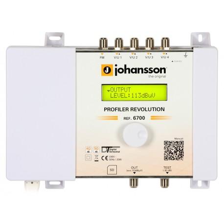PROFILER REVOLUTION (6700) / Cabecera Procesadora 5 entradas 70dB (UHF) - 32 filtros