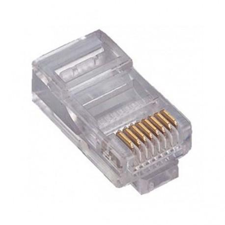 FE-A513-06 / Conector RJ45 macho para cable UTP Cat. 5e