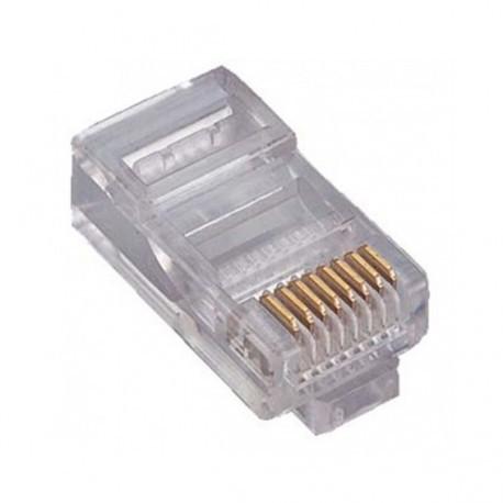 RJ45-U6 / Conector RJ45 macho para cable UTP Cat. 6