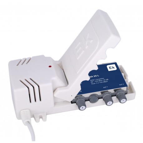 AA20L / Amplificador de Vivienda 1 IN - 2 OUT 20dB