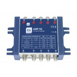 AMP-55 / Amplificador para Multiswitch Cascada 5 líneas