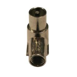 C95M-6 / Conector IEC acodado macho roscado para cable de 6,6 a 6,8mm